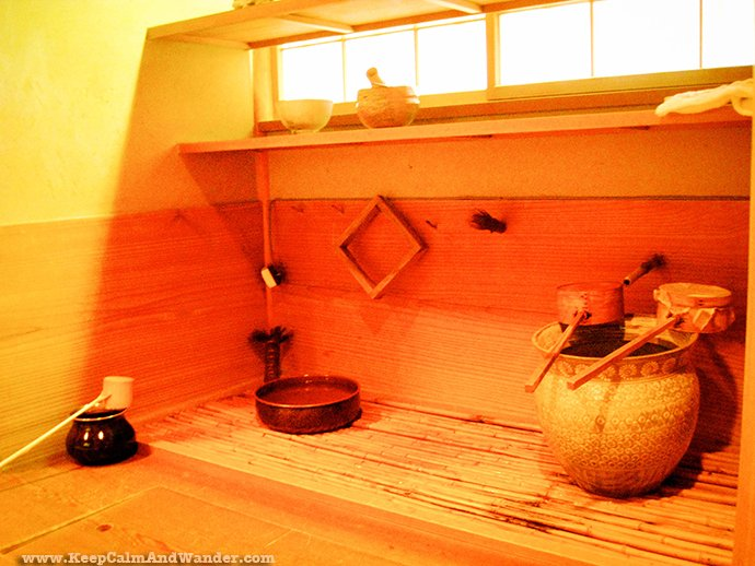 Japanese Tea Ceremony at Gyokuro No Sato Teahouse in Shizuoka Prefecture, Japan.