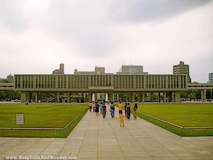 Hiroshima Peace Memorial Museum in Japan.