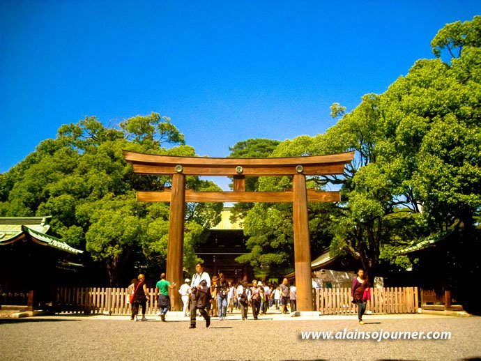 Traditional Japanese Weddings at Meiji Jingu Shrine in Tokyo.