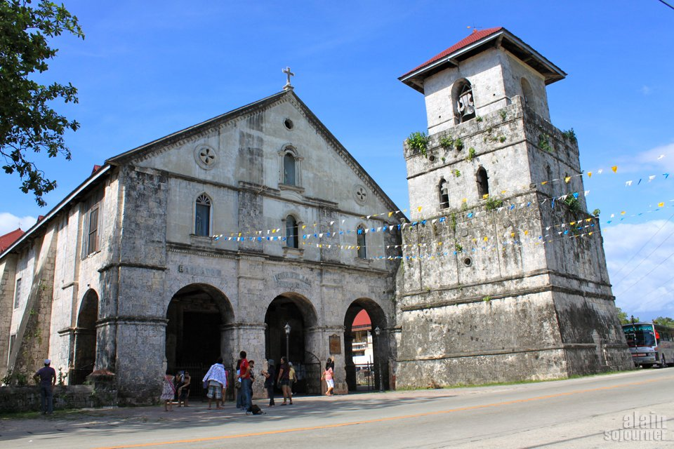 Things to do in Bohol: Visit the Baclayon Church.