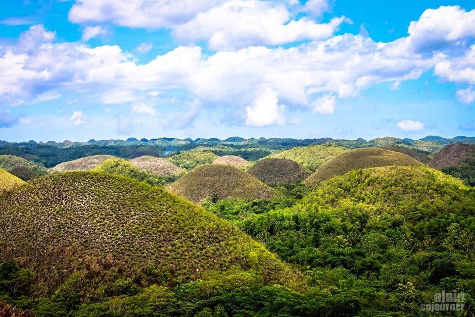Things to do in Bohol Chocolate Hills Carmen Hill Peak