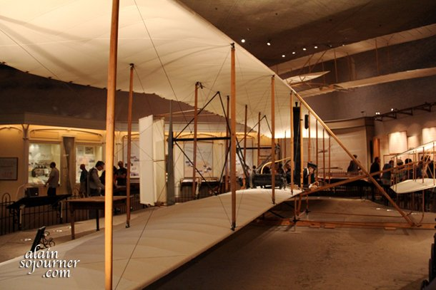 National Air and Space Museum in Washington DC Wright brothers.
