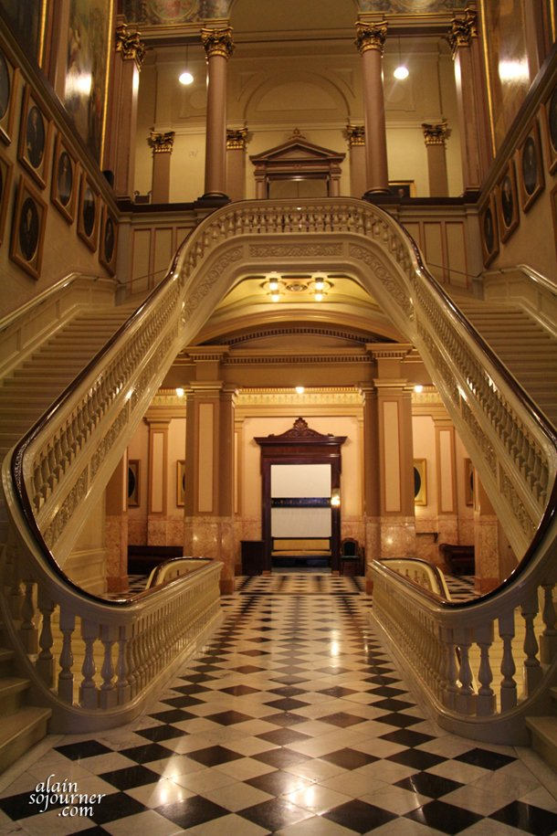 Grand Foyer And Rear Of Auditorium Of Allen Place In Montreal : The masonic temple in philadelphia