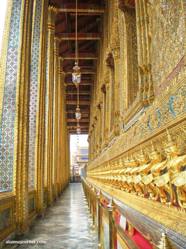The Grand Palace in Thailand.