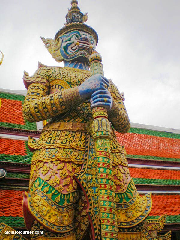 The Grand Palace in Bangkok, Thailand.