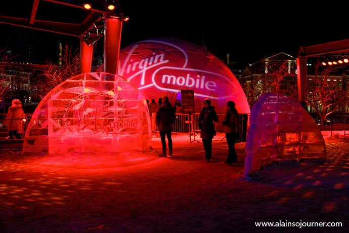 Igloofest in Montreal 2