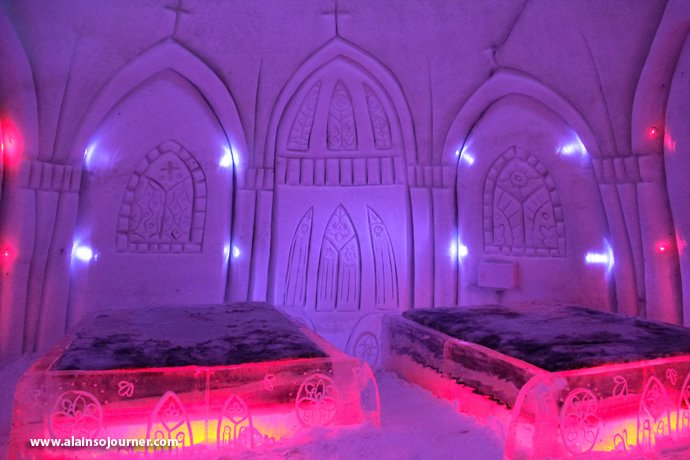 Snow Village in Montreal a.k.a. Village des Neiges.