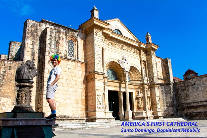 Catedral Primada de America (First Cathedral in America), Santo Domingo, Republican Republic
