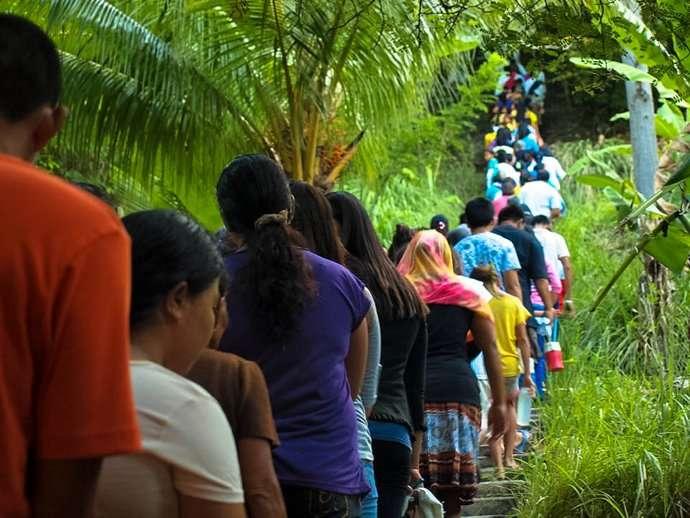 Holy Week Philippines Apo Island 12