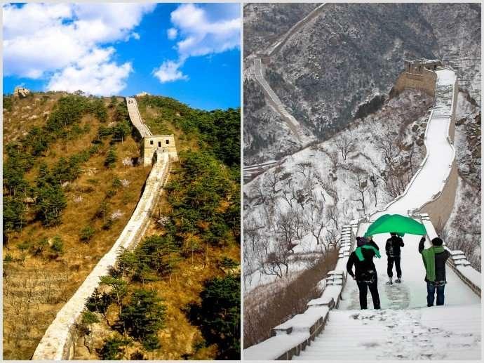 Huanghuacheng Great Wall of China.