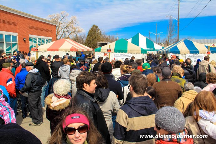 Maple Syrup Festival in Elmira, Ontario.