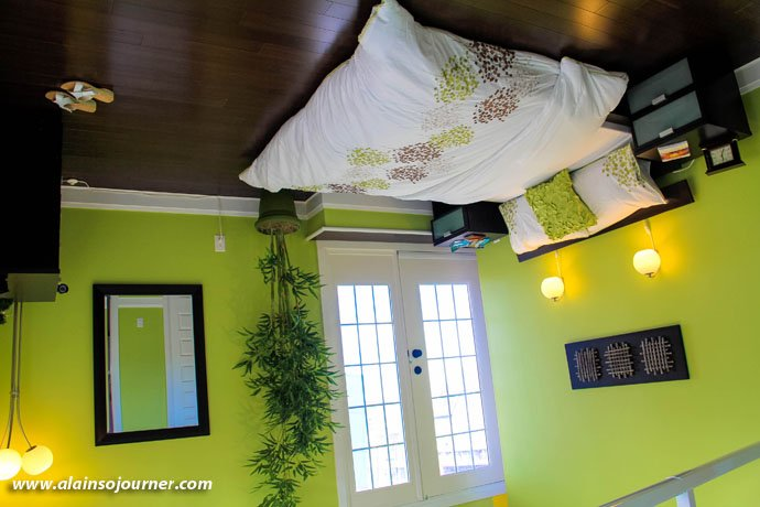 Upside Down House in Niagara Bedroom