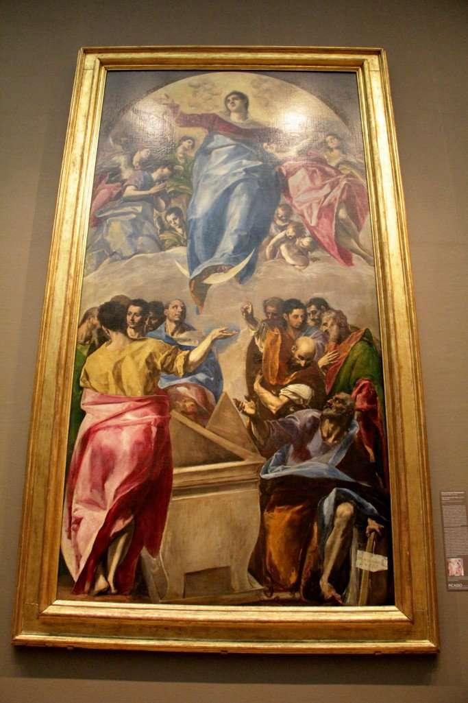 El Greco's, THE ASSUMPTION OF THE VIRGIN