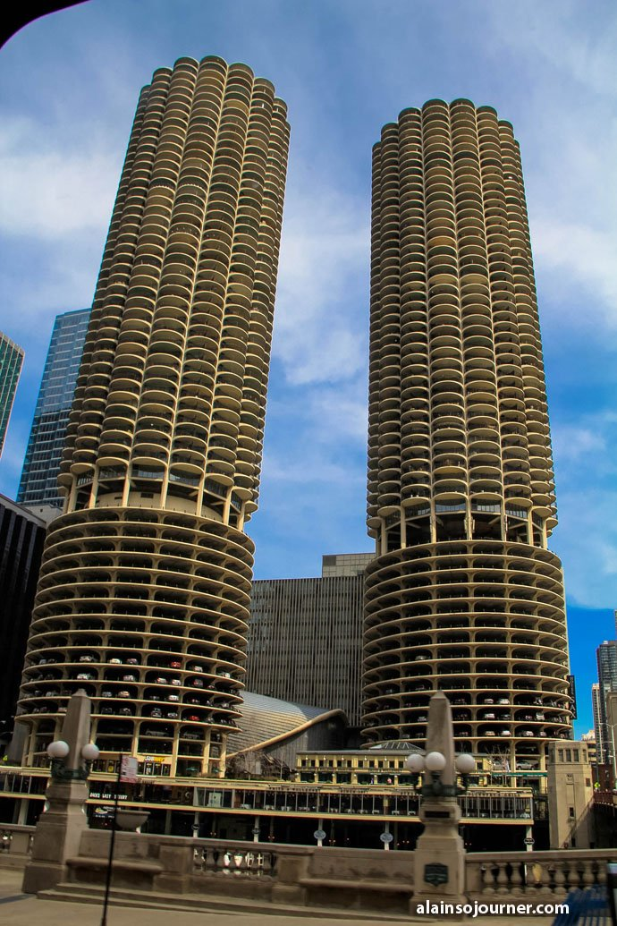 Chicago Film Tour Marina City Towers Things To Do In
