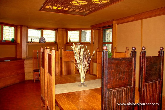 Chicago Frank Lloyd Wright Home 14