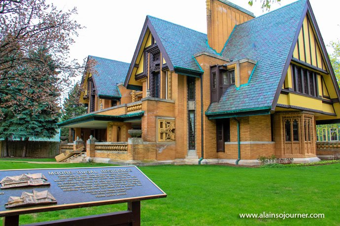 Chicago Frank Lloyd Wright Home 2