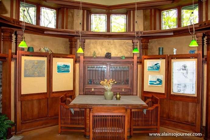 Chicago Frank Lloyd Wright Home 7