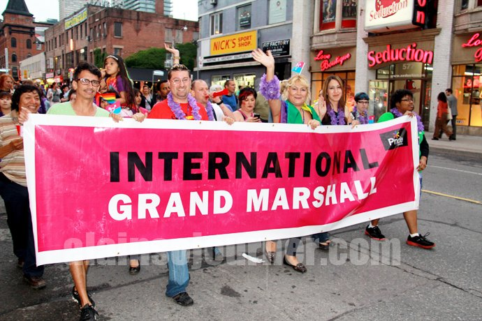 Marcela Romero, International Grand Marshall Pride Toronto 2013