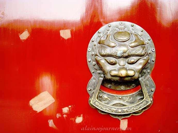 Doorknobs in China