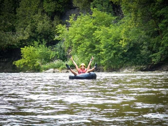 Elora Gorge Tubing 4