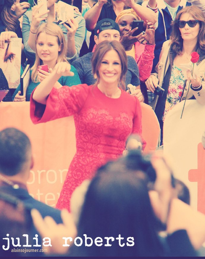 Julia Roberts TIFF 2013 August Osage County