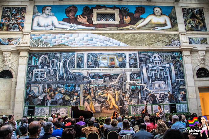 Diego rivera murals at detroit institute of arts for Dia mural artist