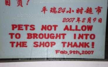Chinglish in China 5