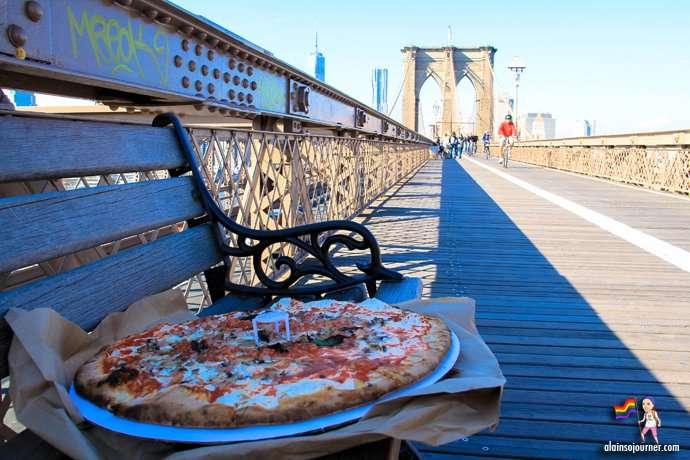 Grimaldi Pizza in New York