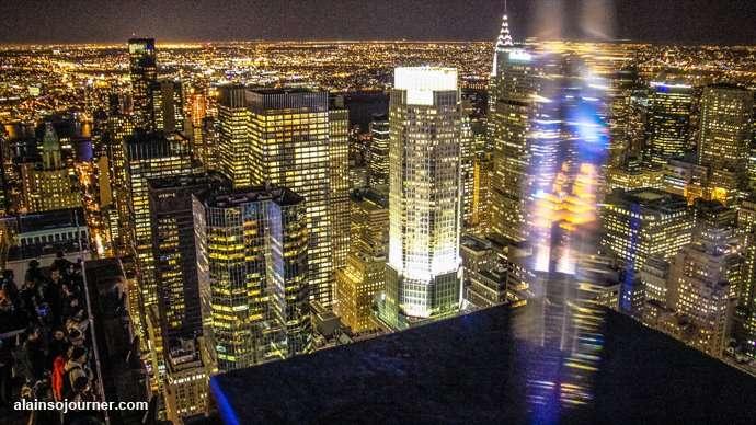 Rockefeller Center Night New York Skyline 14