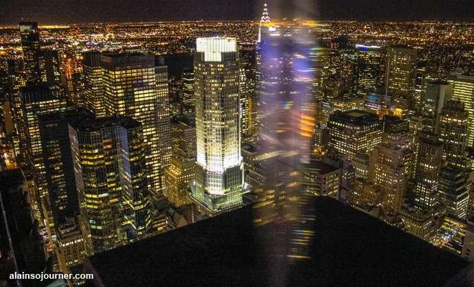Rockefeller Center Night New York Skyline 18