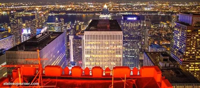 New York Skyline at Night 3