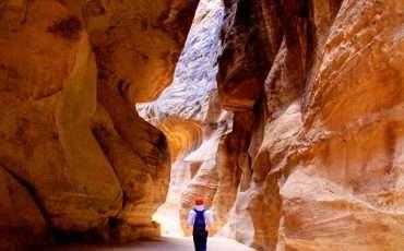 Siq Petra Canyon Jordan 6