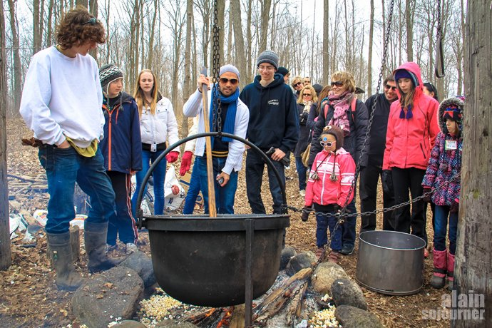 Maple Syrup festival in Elmira