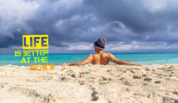 Travel quote / Beach quote