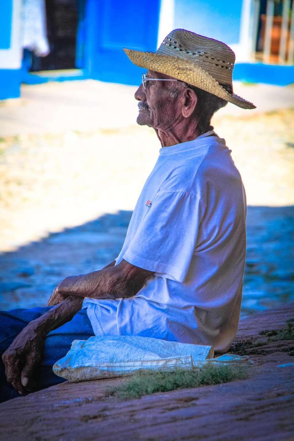 Old Man in Cuba