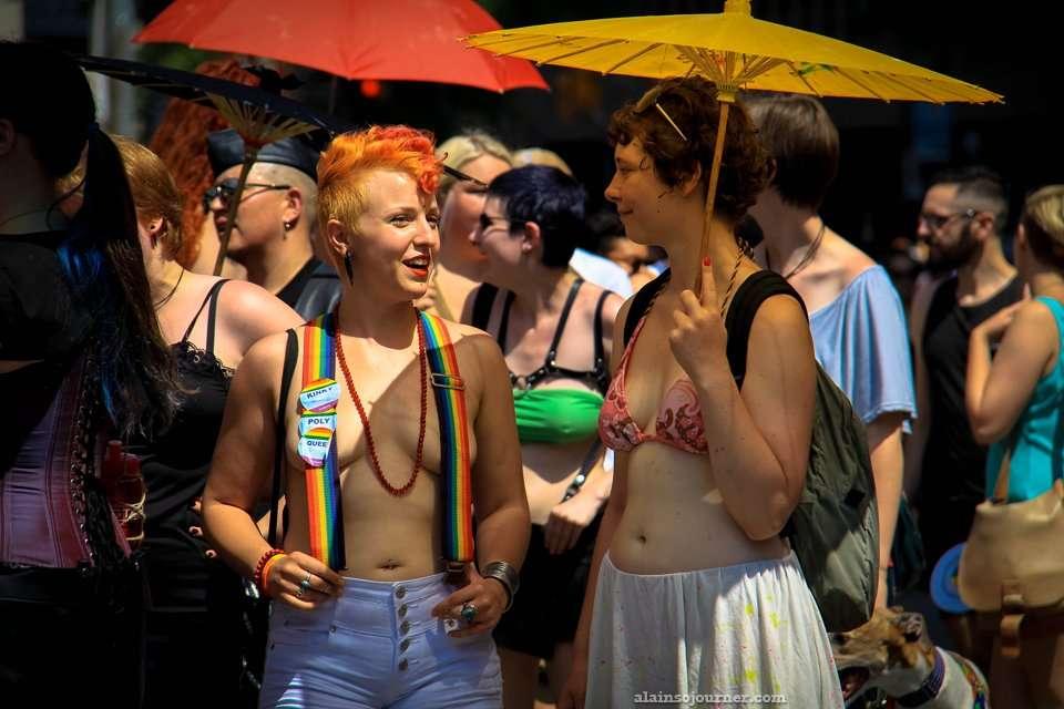 Dyke March Toronto 2014 - World Pride Edition