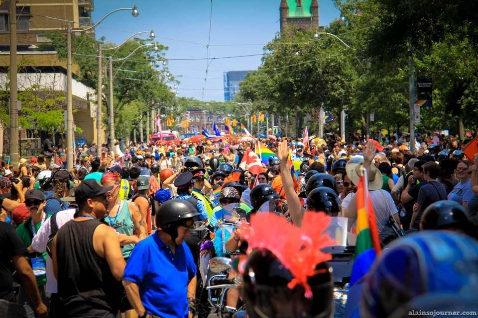 World Pride Dyke March Toronto 2014