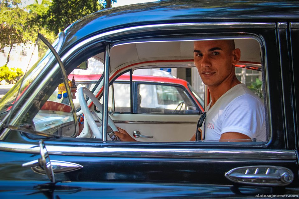 Abellano in Cuba. He was my taxi driver when I visted Hemingway's house.