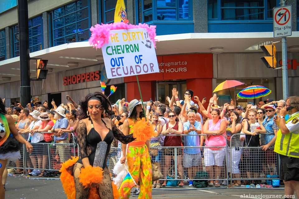Ecuador WorldPride Parade 2014 Toronto