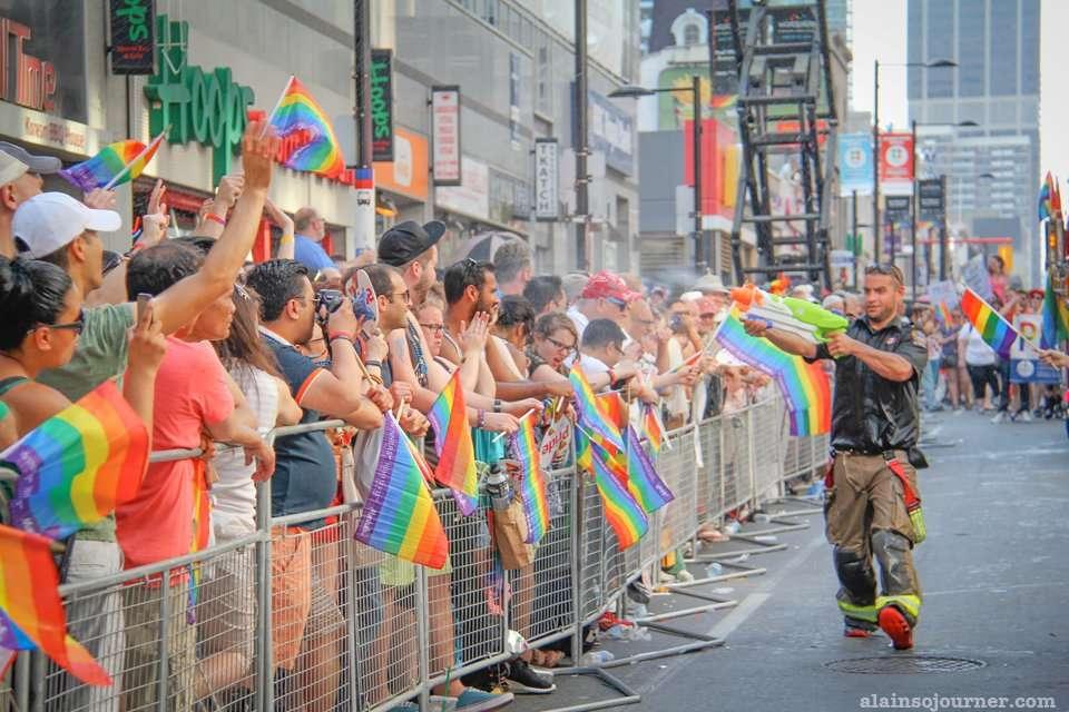Gay parade pride toronto