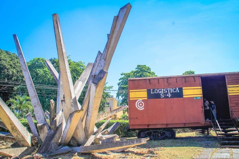 Monumento a la Toma del Tren Blindado in Santa Clara Cuba