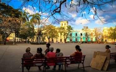 Parque Vidal Santa Clara Cuba 2