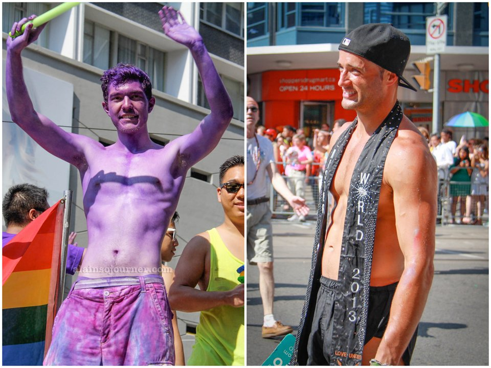 The Shirtless Boys of World Pride 2014 Toronto / Mr. World Canada 2013