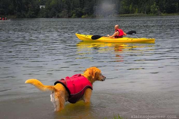 Kayak Kelso lake Halton Conservation Milton 2
