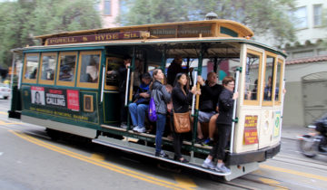 Hopping on San Francisco's Cable Cars