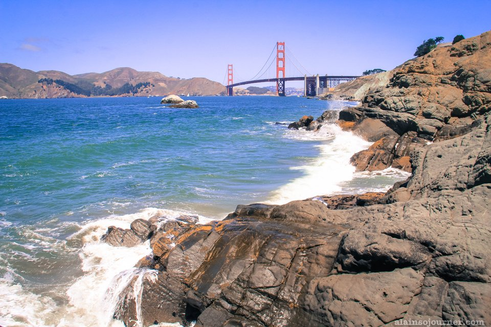 Golden Gate Bridge Baker Beach San Francisco