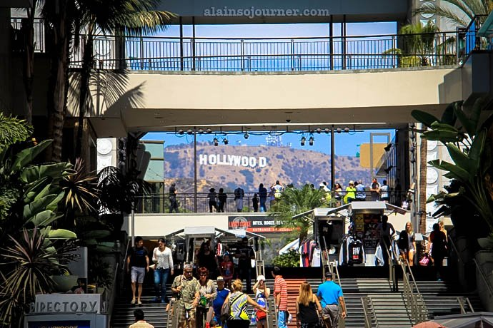 Hollywood Sign Hollywood Boulevard Los Angeles