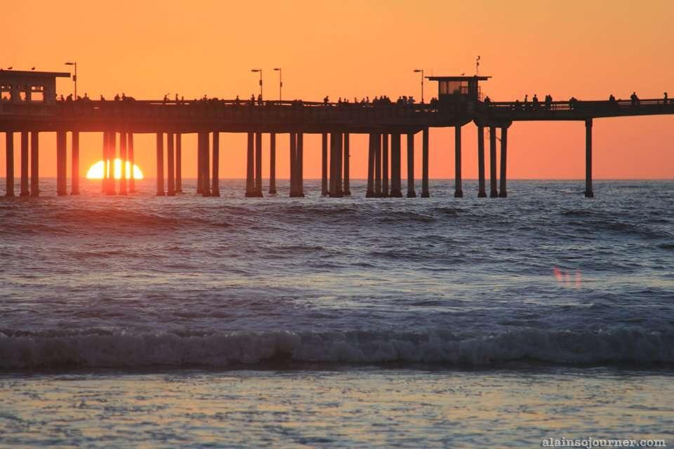Ocean Beach San Diego Sunset