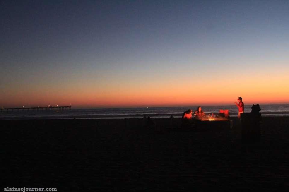 Ocean Beach sunset San Diego California