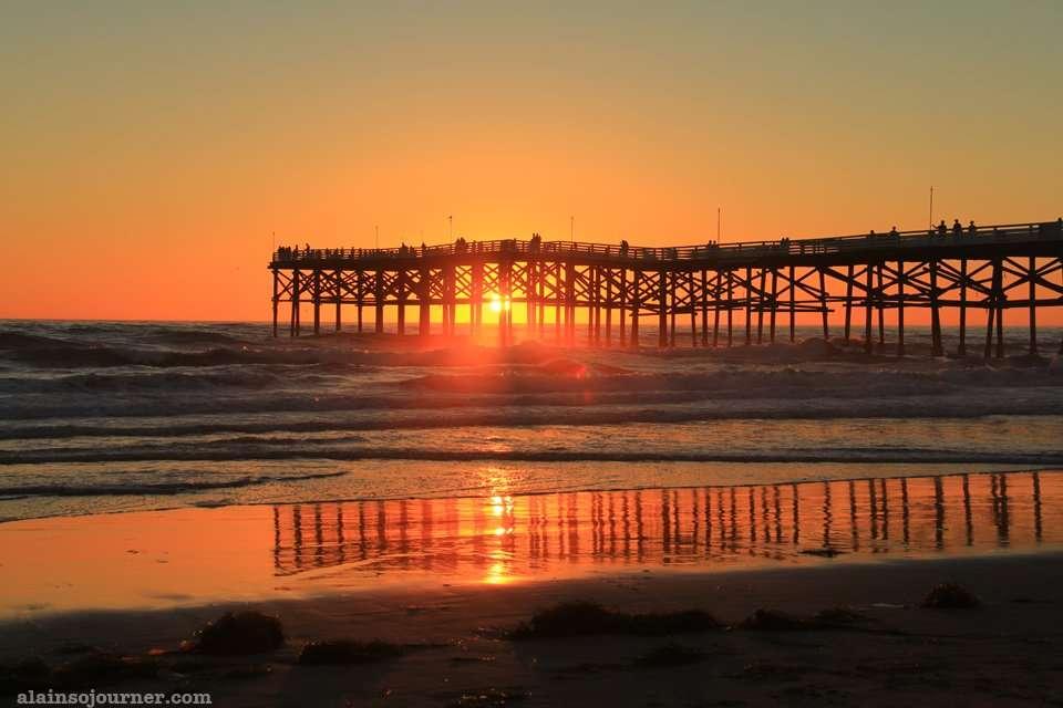 Pacific Beach Sunset San Diego